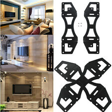 "UK Plasma LCD LED TV Wall Mount Bracket Slim Extensions Plate For 32-60"" Monitor"