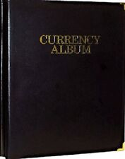 Banknotes Collection Album Modern Notes 4 Pockets Pages Harris High Quality USA