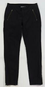 ATHLETA Size 12 Black Lightweight Zipper Pocket Ankle Trekkie Wander Pants
