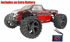 RedCat Racing Volcano-18 1/18 V2 4WD Monster Truck Red w/Extra Battery