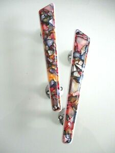VINTAGE 1960's DOOR HANDLES PAIR
