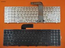 New DELL Inspiron 17R N7110 US Keyboard GLOSSY FRAME BALCK Win8 Laptop Keyboard