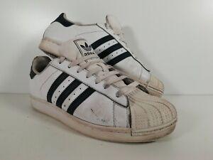 Adidas Classic White Leather tennis trainersUK 10.5 US11 EU45.5