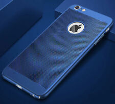 IPHONE 6 6S  Slim Metallisch Case Cover Handy Hülle Schutzhülle Apple Blue BLAU