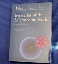 The Great Courses - Mysteries of the Microscopic World ~ Brand NEW DVDs & Book!