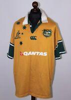 Vintage Australia national rugby union team shirt jersey Canterbury Size 3XL