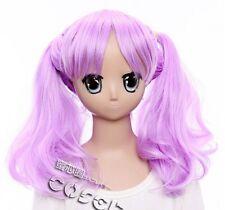 W-78 Fractale Mohammed Cosplay Anime Manga Wig Heat Resistant Purple
