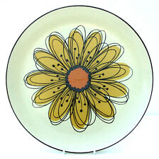 Vintage Retro 1970s Midwinter Stonehenge Flowersong Dinner Plate