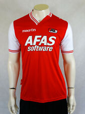 AZ Alkmaar Home Football Shirt Jersey Trikot 2013 - 2014 Macron M