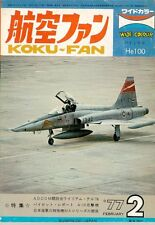 KOKU FAN 2/77 USN AIRCRAFT COLOR VF F-4 F-14 RVAH VA A-6 A-7 / SOVIET AF / THAI