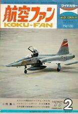 KOKU FAN 2/77 USN AIRCRAFT COLOR VF F-4 F-14 RVAH VA A-6 A-7 / SOVIET AF / THAI