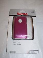 Hama, 104540 LUCIDA COVER ROSA APPLE IPHONE 3g 3gs