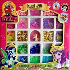 Filly Fairy basterperlen bead set 1000 collar de perlas Draco ut20484 filly World