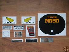 1975 Honda MR50 Elsinore complete decal set