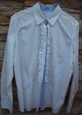 Bluse - van Laack Gr. 44 -  Modell Fioni weiß - Neuware