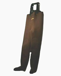 "Cabelas Chest Waders Size ML 39x32 Stocking-foot Neoprene Bib Fishing Foot 9.5"""