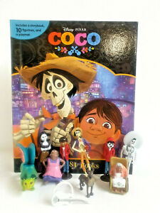 New Disney COCO My Busy Book, Map, 10 Figures