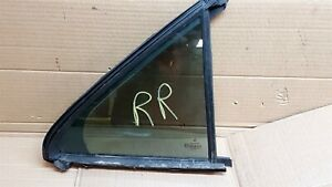 OEM 00-06 Mercedes-Benz W220 S430 RR RH Door Window Glass Clear
