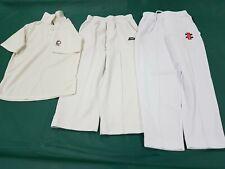 New listing Junior Cricket Whites Shirt Pants Size 6-8