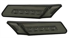 2 Indicator Lateral LED Porsche Boxster & S Type 987 2004-2008 Black Smoke