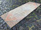 Handmade rug, Runner rug, Turkish rug, Vintage rug, Wool, Carpet | 2,6 x 7,2 ft