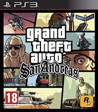 GTA GRAND THEFT AUTO SAN ANDREAS SANANDREAS  ps3 copertina inglese