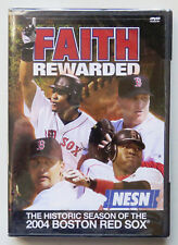 Faith Rewarded: The Historic Season of the 2004 Boston Red Sox (DVD, 2004) NEW
