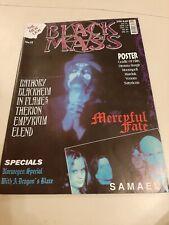 Black Mass Nr.2 Magazine Fanzine Bathory In Flames Black Metal Therion