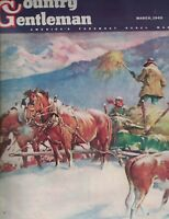 Country Gentleman Magazine March 1945 Matt Clark Keith Edgar Nancy Lyon