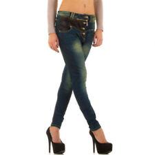 Hosengröße 36 stonewashed Damen-Jeans im Boyfriend-Stil