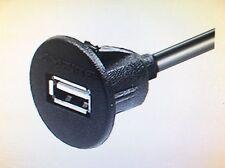 USB Dash Mount Socket Extension Lead 150cm Long Ideal VW T5 T6 T4 Double Din