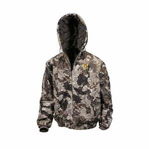 Hot Shot Men's Insulated Twill Camo Hunting Jacket for cold weather