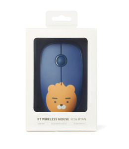 KAKAO FRIENDS BT Wireless Mouse Little RYAN Blue color Korean character