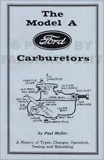 1928 1929 1930 1931 Ford Model A Carburetor Shop Manual Zenith-Holley Tillotson