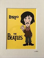 The Beatles - Ringo Starr - Late 1960's - Hand Drawn & Hand Painted Cel