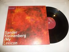 "SANDER KLEINENBERG - My Lexicon - 2000 UK 3-track 12"" Vinyl Single"