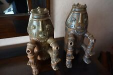d'Art amerindien paire D'urne funeraire  tres belle piece d'origine inconnue