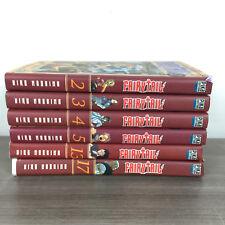 Fairy Tail Lot 6 Manga Tomes 2 3 4 5 13 17 (mangas)