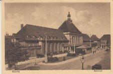 Ansichtskarte Schlesien  Görlitz  Bahnhof