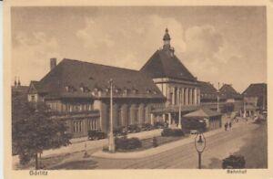 Carte Postale Silésie Görlitz Gare