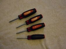 Craftsman (Made In USA) 4 Piece Professional Screwdriver TORX Drivers, Stubby