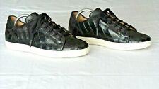 NICE! $600+ MEZLAN Genuine Crocodile Alligator Sneakers Shoes Loafers Boots 9