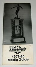 New York Arrows - 1979-80 Media Guide / Yearbook - MISL Soccer -Rare - Messing