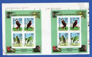 HONDURAS - UPAEP - BIRDS, MI # BL 75, PAIR, IMPERFORATED, MNH, FVF