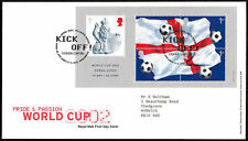 First Day of Issue Football Decimal Great Britain Stamps