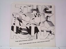 """THE ROCK HOUNDS """"THE GIRLFRIEND SONG / YOU CAN NEVER HAVE TOO MUCH"""" 45w/PS MINT"""