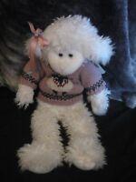"JB Bean & assoc. plush lamb sheep The Boyd's Collection 17"" Abbey Ewe"