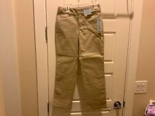 Girls uniform pants beige/khaki
