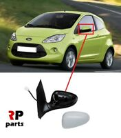 FOR FORD KA 2008-2015 NEW WING MIRROR ELECTRIC HEATED PRIMED 5 PIN LEFT N/S LHD