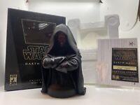 Star Wars Gentle Giant Darth Maul mini bust #7720/10000